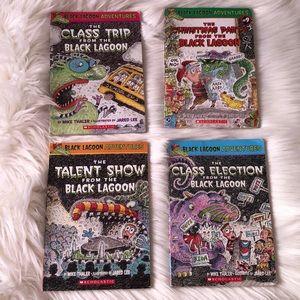 Black Lagoon Adventures book series (4)